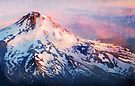 Mt. Hood Sunset by Jeff Clark