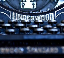 Underwood Typewriter II by Tia Allor