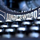Underwood Typewriter I by Tia Allor-Bailey