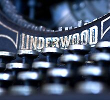Underwood Typewriter I by Tia Allor