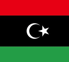 National Flag of Libya  by abbeyz71