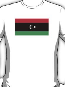 National Flag of Libya  T-Shirt