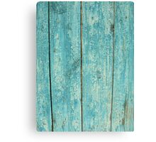 Old wood texture pattern for web background Canvas Print