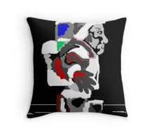 Back Pack Buddy Throw Pillow