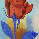 Red Rose by Michael Creese