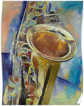 Saxophone by Michael Creese