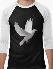 Dove of Peace Tee Men's Baseball ¾ T-Shirt