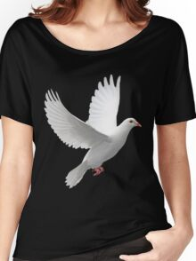 Dove of Peace Tee Women's Relaxed Fit T-Shirt