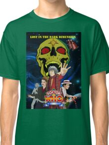 Doctor Who Lost in the dark dimension Classic T-Shirt