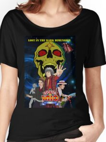 Doctor Who Lost in the dark dimension Women's Relaxed Fit T-Shirt