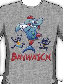 Baywatch Shark T-Shirt