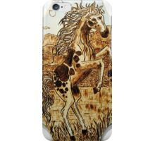leaping mustang iPhone Case/Skin