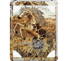 leaping mustang iPad Case/Skin