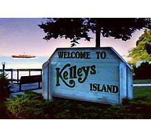 Welcome To Kelleys Island Photographic Print