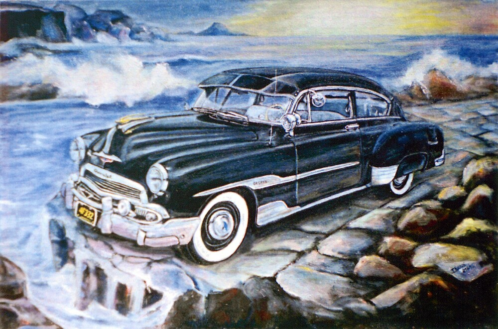 '51 CHEVY by IRENE NOWICKI