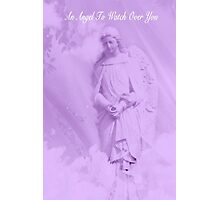 An Angel To Watch Over You Photographic Print