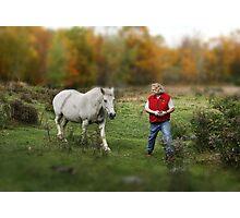Hornless Unicorn Photographic Print