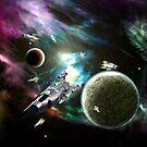 Space Fleet by Packrat
