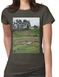 a beautiful Ecuador landscape Womens Fitted T-Shirt