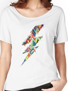 graphic lighting Women's Relaxed Fit T-Shirt