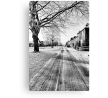 Low Green Canvas Print