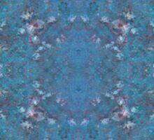 kaleidoscope barnacles  Sticker