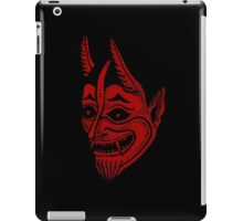 japanese traditional tattoo satan iPad Case/Skin