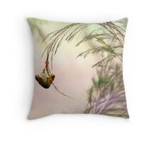 Young Bellbird Throw Pillow
