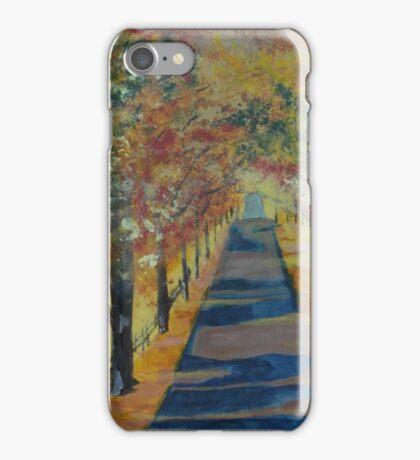 November Road iPhone Case/Skin