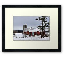 Sheldon Barn Framed Print