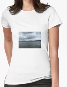 Sky and Sea Womens Fitted T-Shirt