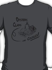 Oysters, clams, and cockles T-Shirt