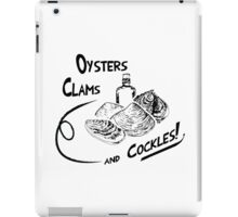Oysters, clams, and cockles iPad Case/Skin