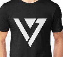 SEVENTEEN WHITE LOGO Unisex T-Shirt