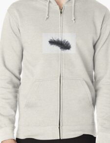 Black feather T-Shirt