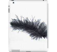 Black feather iPad Case/Skin