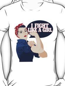 I fight like a girl T-Shirt