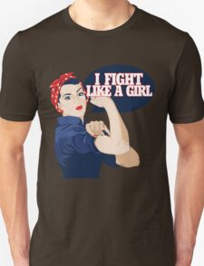 I fight like a girl Unisex T-Shirt