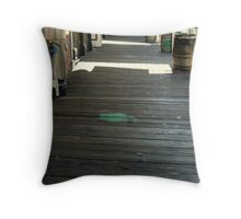 """On The Boardwalk"" Throw Pillow"