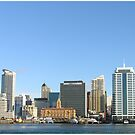 Auckland skyline - NZ by RobAD