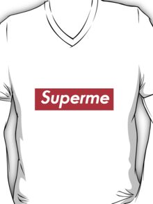 SUPERME Superman X Supreme T-Shirt