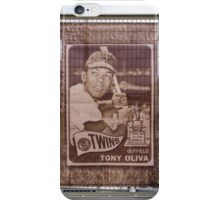 Twins Rookie iPhone Case/Skin