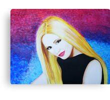 Renee, a portrait Canvas Print