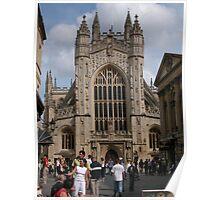 Bath Abbey, England Poster