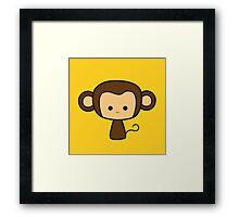 Happy Monkey Framed Print