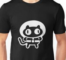 Cookie Cat - Black & White, design only Unisex T-Shirt