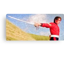 Sword Play Canvas Print