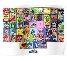Super Smash Bros. Funny Roster  Poster