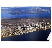 Seattle from Above Poster