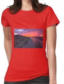 Cuba Beach Womens Fitted T-Shirt